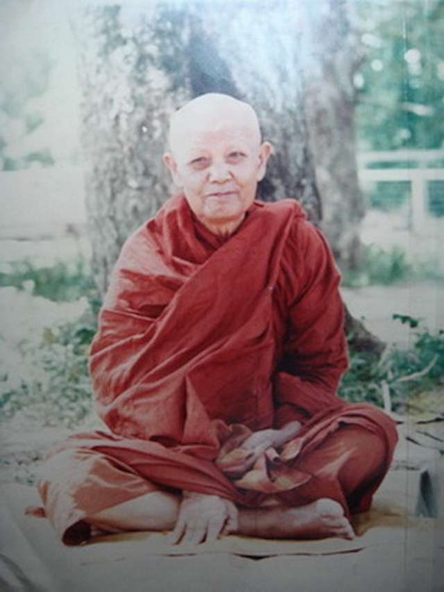 Luang Por Phang Master Monk of Wat Udom Kongka KhiriKhaet, in Udon Rachathani