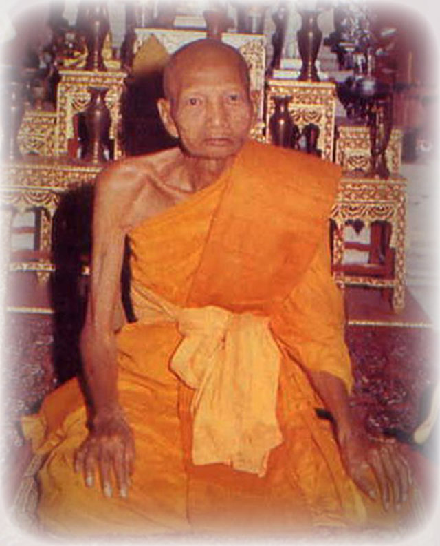 Nakorn Pathom Master Monk Luang Por Noi of Wat Dhamma Sala