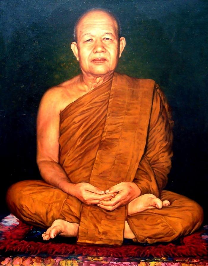 Pra Ajarn Fan Ajaro - Wat Pha Udom Somporn (Sakon Nakorn)