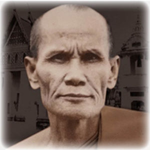 Luang Phu Rian Wat Bang Rahoeng Early Era phot